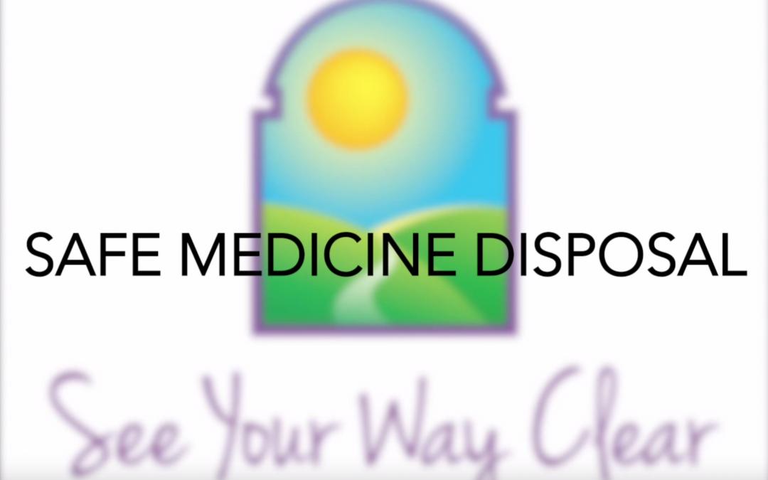 Video Tip #2: Safe Medication Disposal