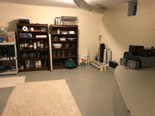 Closet before