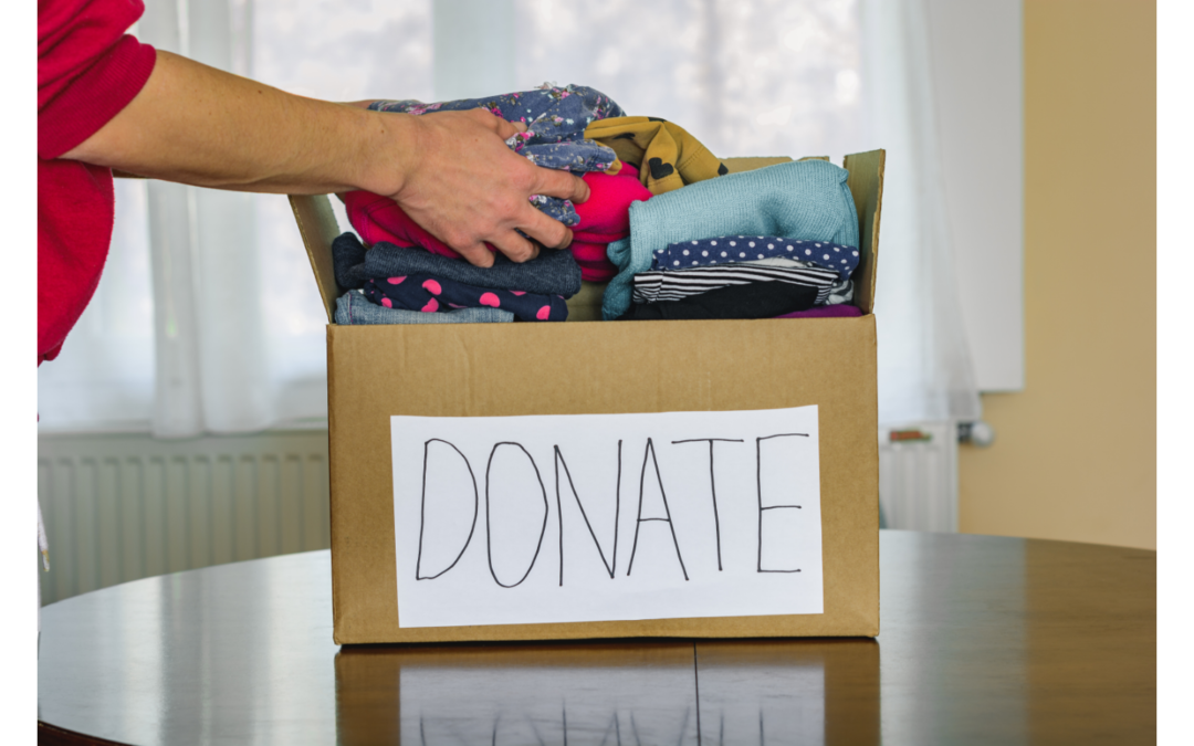 A New Resource for Donating Clothes, Shoes, etc.